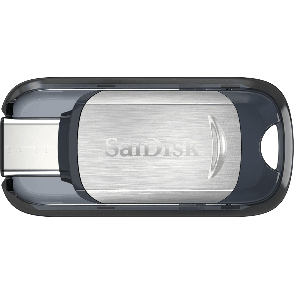 Pendrive USB SanDisk Ultra<sup>®</sup> com conector Tipo C™