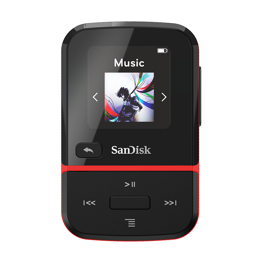 MP3 PLAYER SANDISK<sup>®</sup> CLIP SPORT GO