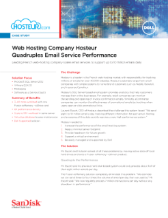 Hosteur Quadruples Email Service Performance