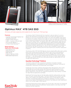 SSD SAS Optimus MAX