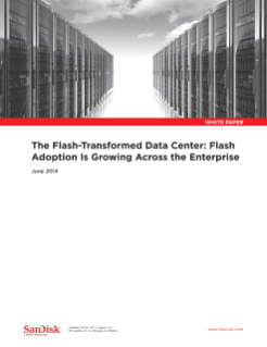 The Flash-Transformed Data Center: Flash Adoption Is Growing Across the Enterprise
