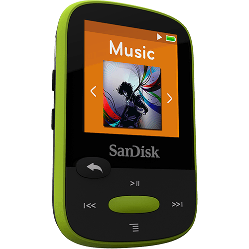 MP3 PLAYER SANDISK® CLIP SPORT