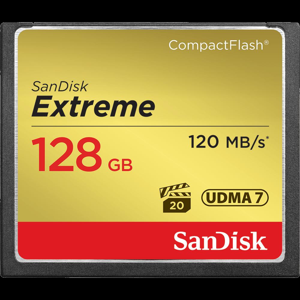 Cartão de Memória Extreme CompactFlash