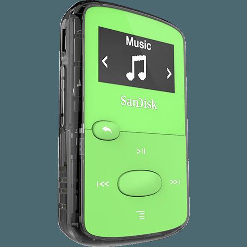 sandisk clip jam mp3 player manual